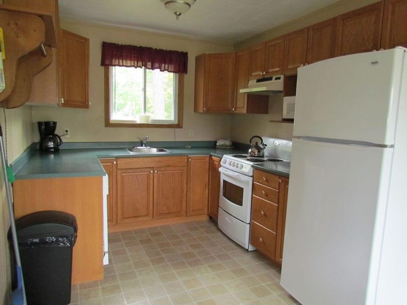 Pine Vista Resort Algoma accommodation kitchen